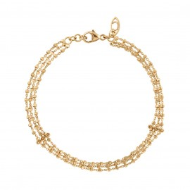 DIAMANTÉE triple chain bracelet