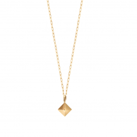 PYRAMID chain forçat necklace