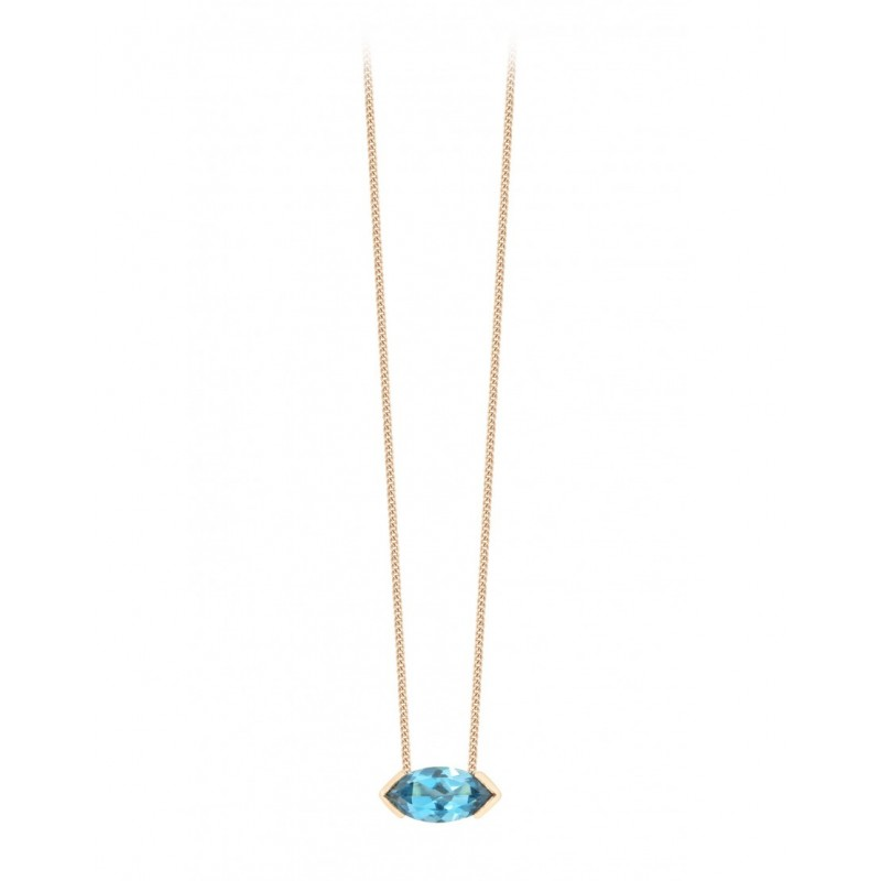 Collier GABY Topaze Blue London
