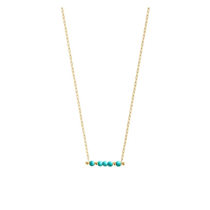 Necklace ORIGINES COLORS magnesite