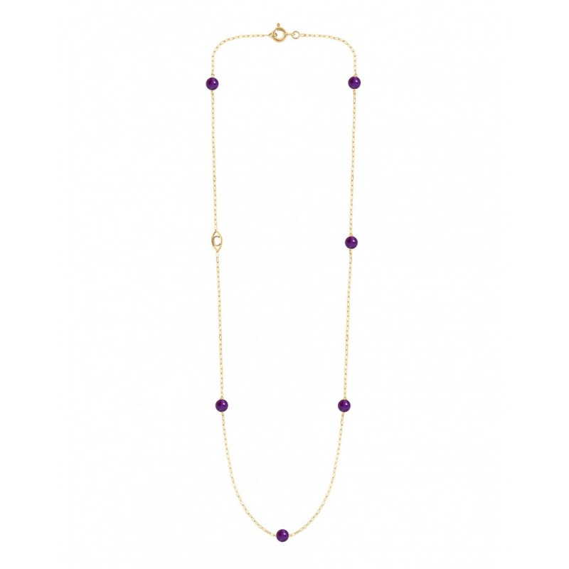 MASSILIA Amethyst necklace