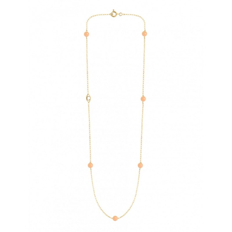 Collier MASSILIA aventurine rose