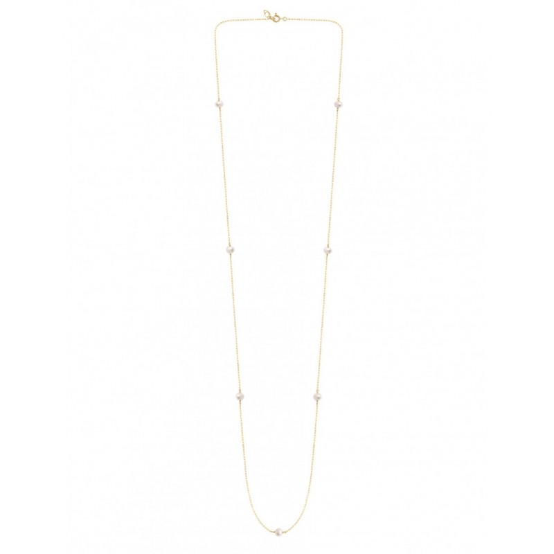 MASSILIA Freshwater pearls long necklace