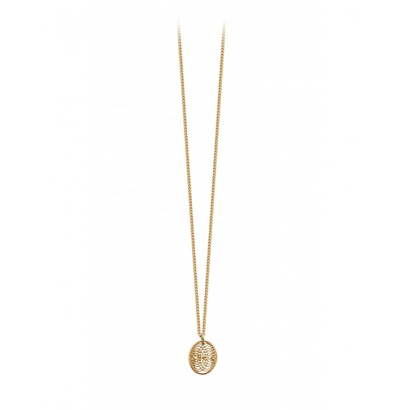 AURA small medal necklace