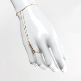 CORPS A CORPS  hand jewelry - Diamantée chain