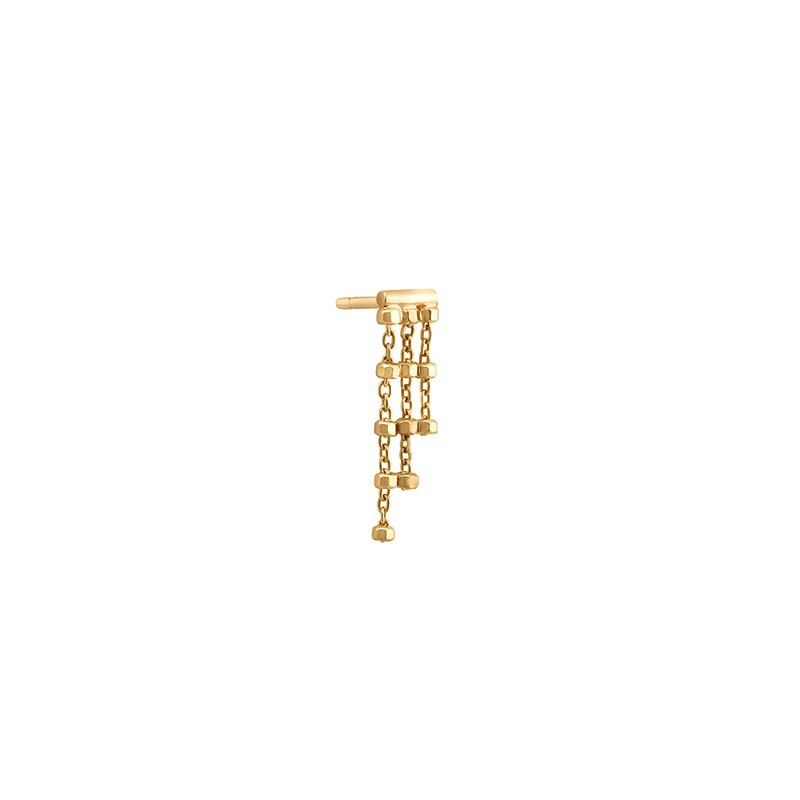 Right DIAMANTÉE 3 chains earring (individually)
