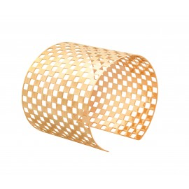 DAMIER yellow gold XL cuff