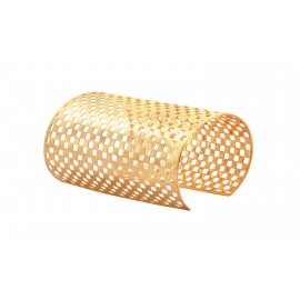 DAMIER yellow gold XXL cuff