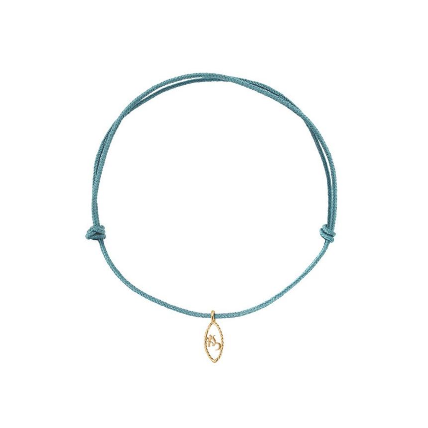 IRIS Om pendant on cord (child size)